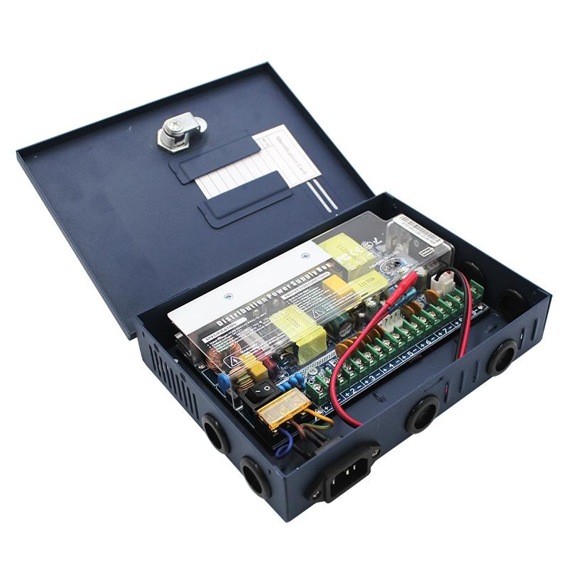 12V箱式9路120W電源
