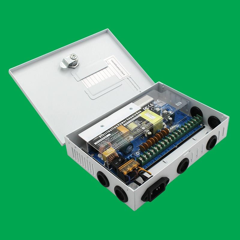 12V箱式9路120W電源(無UPS)