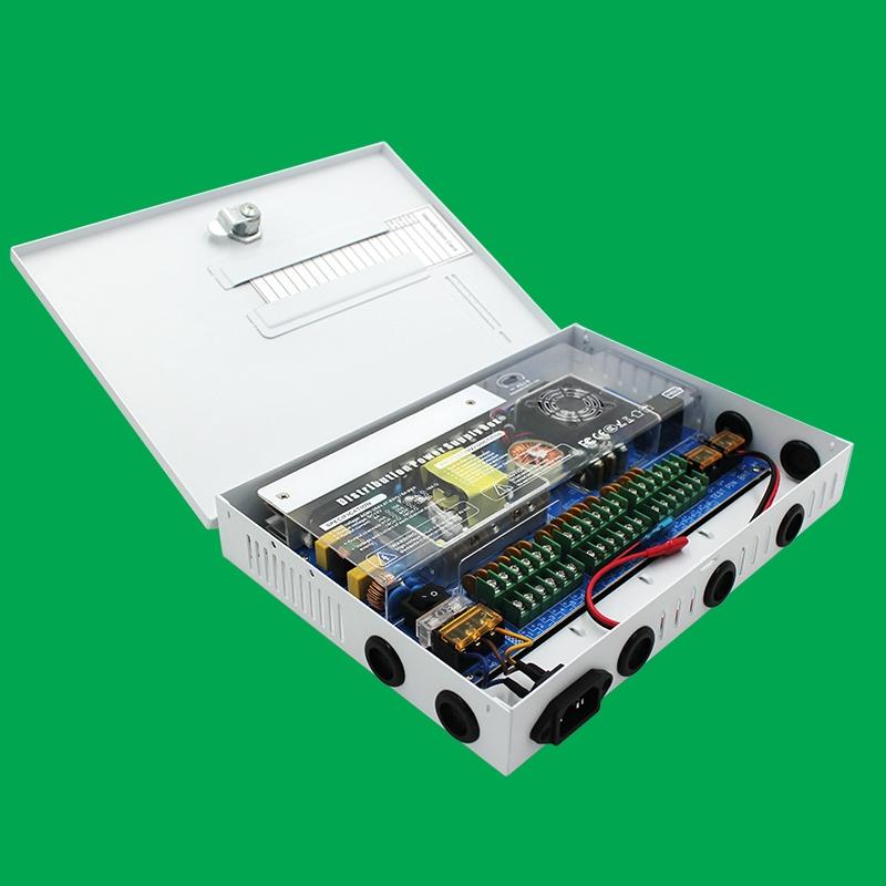 12V箱式18路250W電源