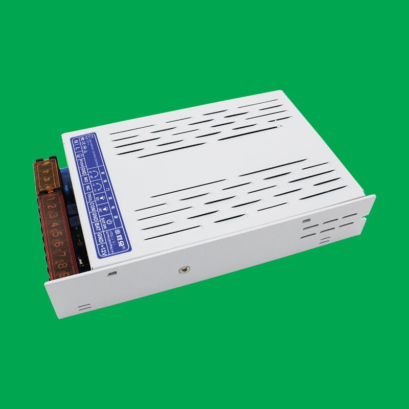 12V5A導軌式門禁UPS電源