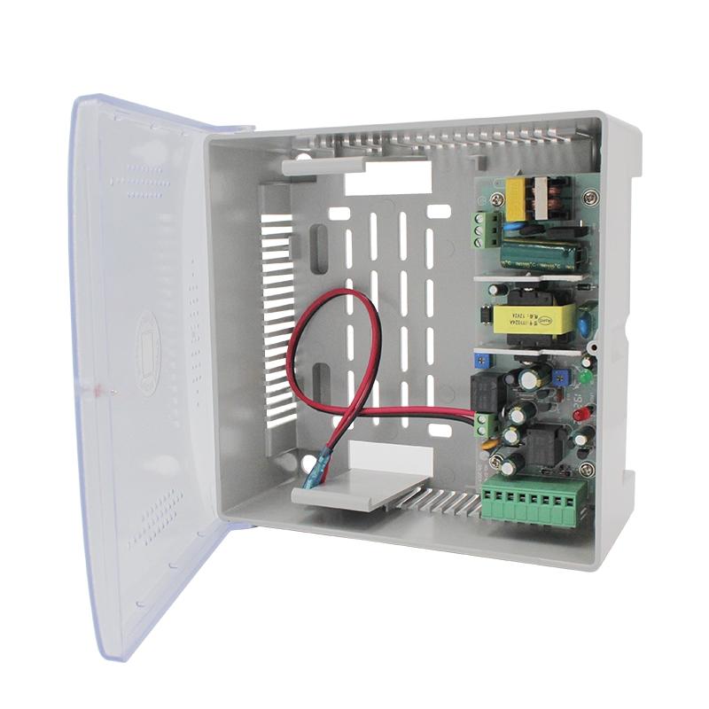 12V2A塑料殼體門禁UPS電源(7Ah)